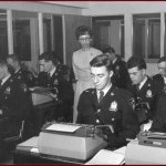 1960s Typing Class at Saskatoon Business College