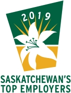 Chosen as one of Saskatchewan's Top Employers for 2019