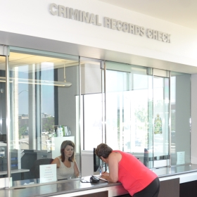 Criminal Record Check office